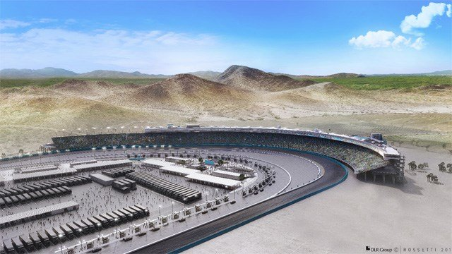 Artist's renderings of the modernization project at Phoenix International Raceway. (Source: PIR)