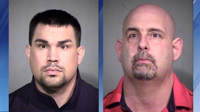 Brandon Douglas Draper, 26 (left); Timothy John Piegari, 42 (Source: Maricopa County Sheriff's Office)