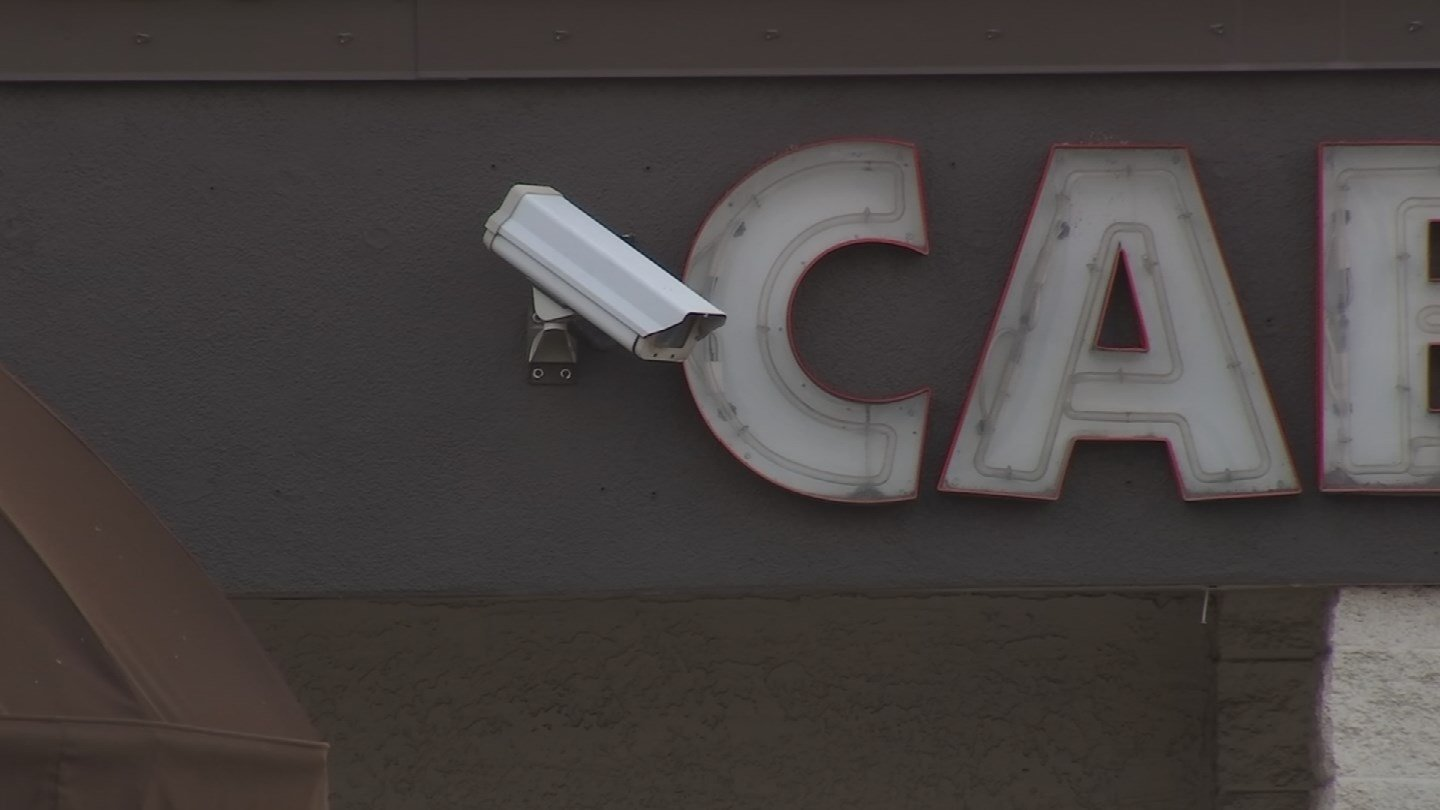 Timothy Piegari, a manager at the club, is seen on video disconnecting the video surveillance equipment, according to police. (Source: 3TV/CBS 5)