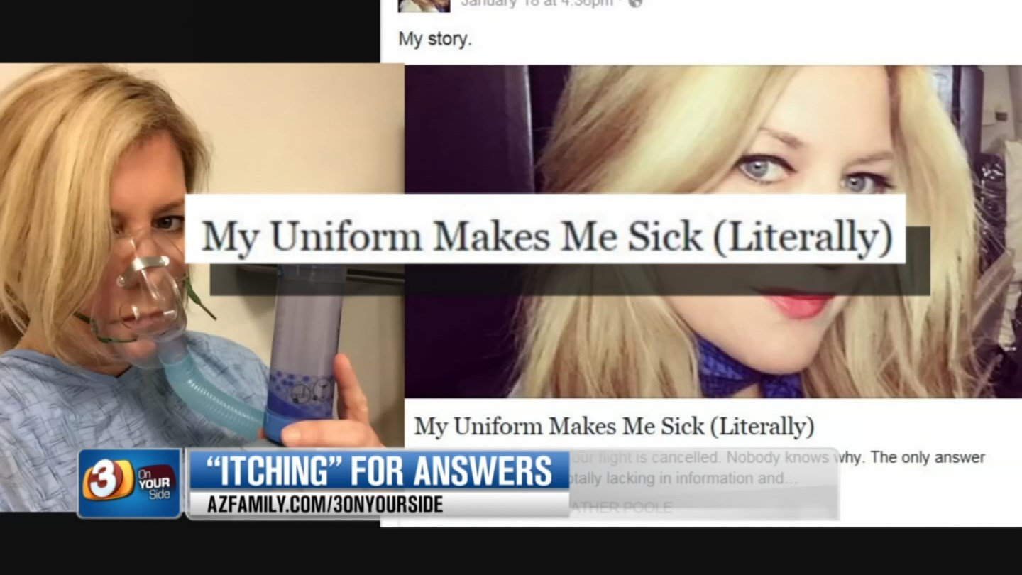 One employee posted that the uniforms were making her literally sick. (Source: 3TV)