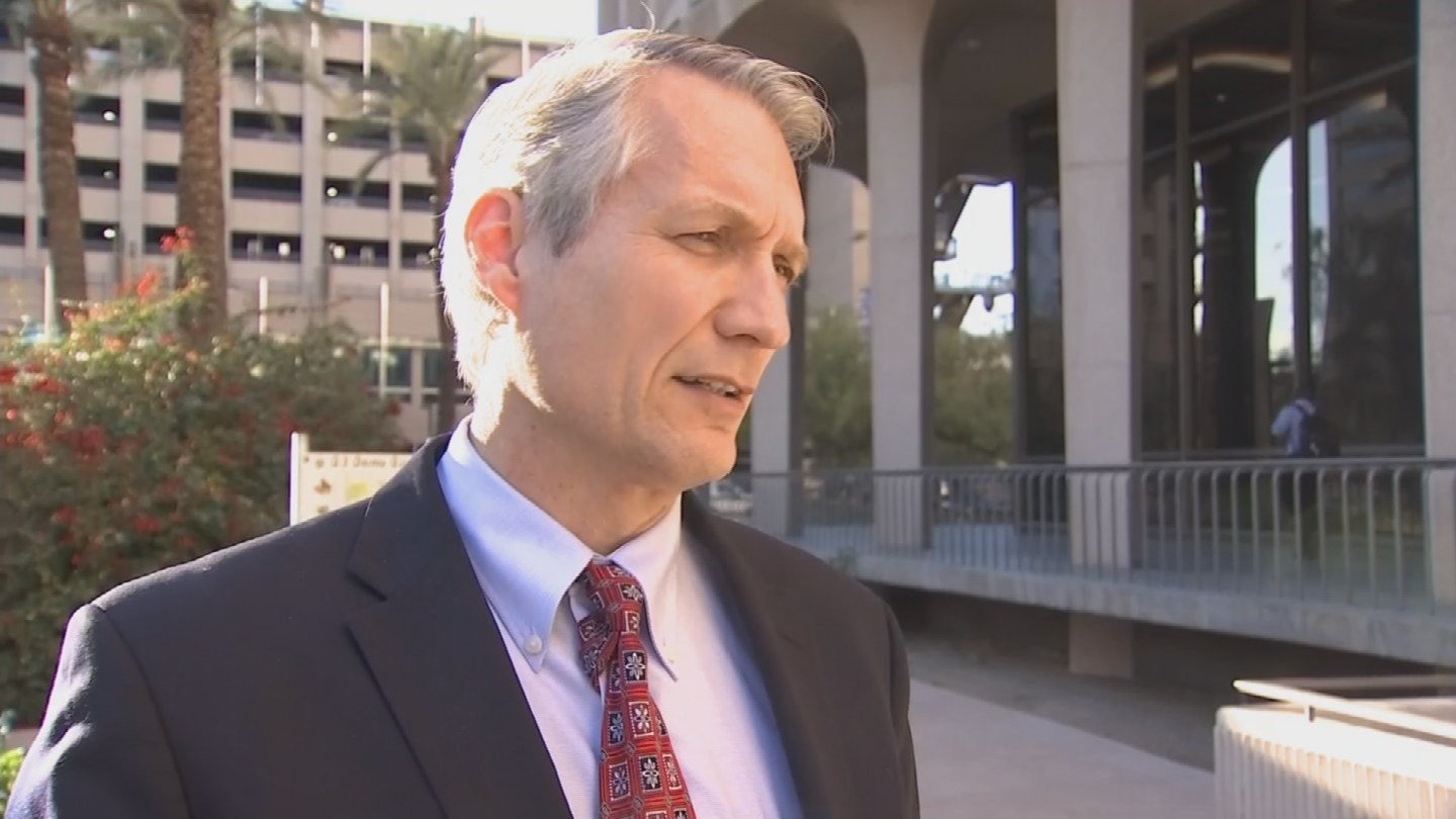 Phoenix City Councilman Jim Waring voiced his opposition to the making Phoenix a sanctuary city. (Source: 3TV/CBS 5)