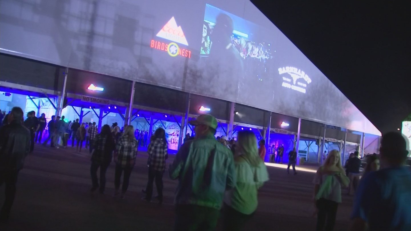 Thousands came out for opening night at the Bird's Nest. (Source: 3TV/CBS 5)
