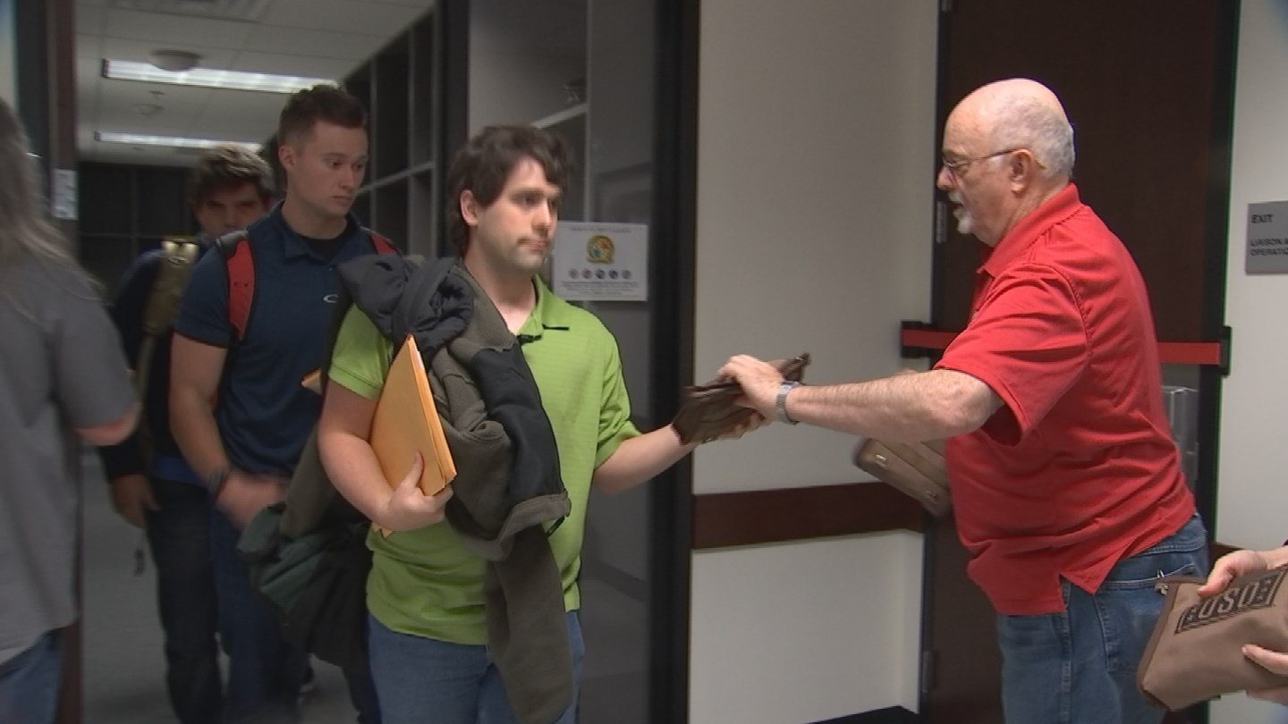 The USO provides care kits to get the applicants to their first location. (Source: CBS 5)
