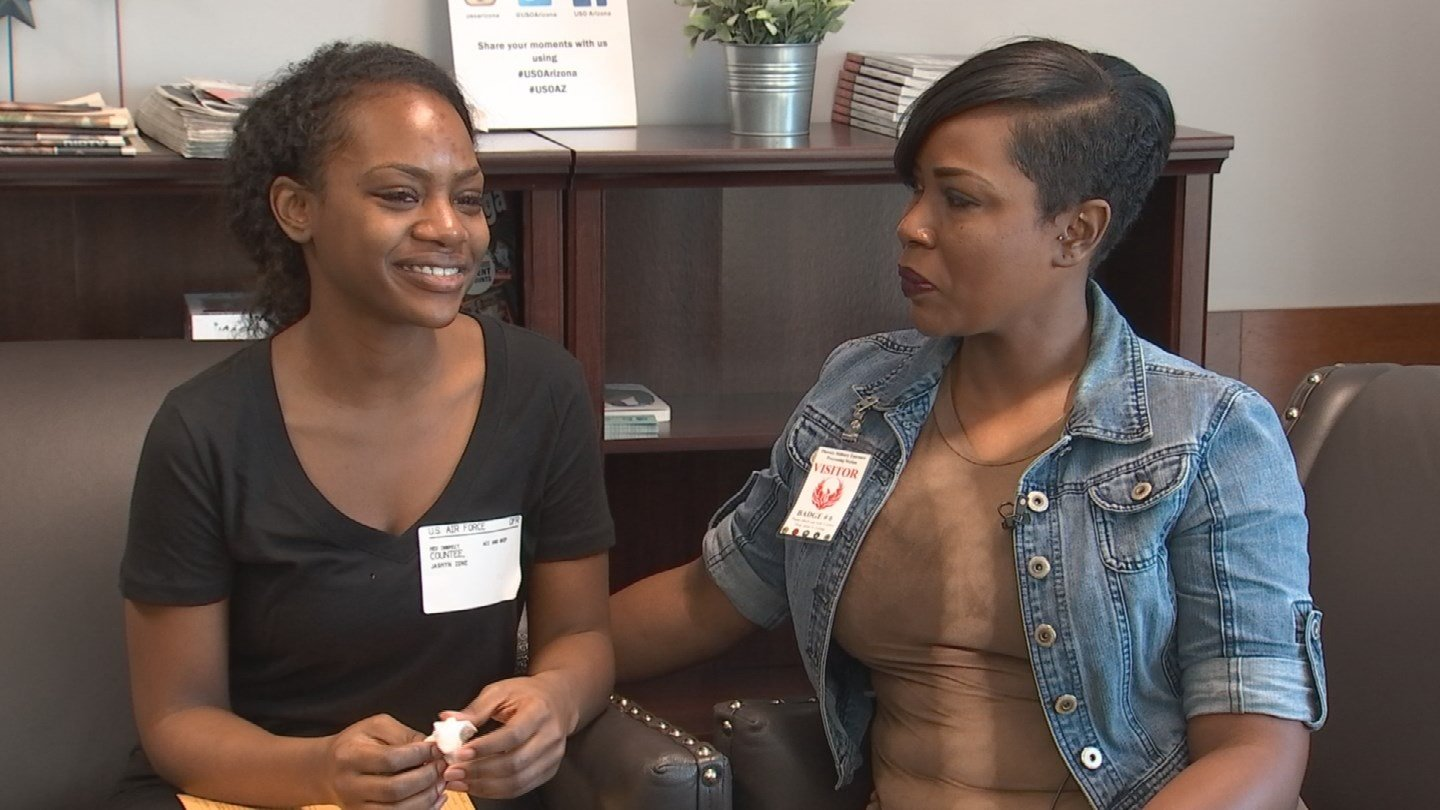Jasmyn Countee and her mother, Yvette Williams (Source: CBS 5)