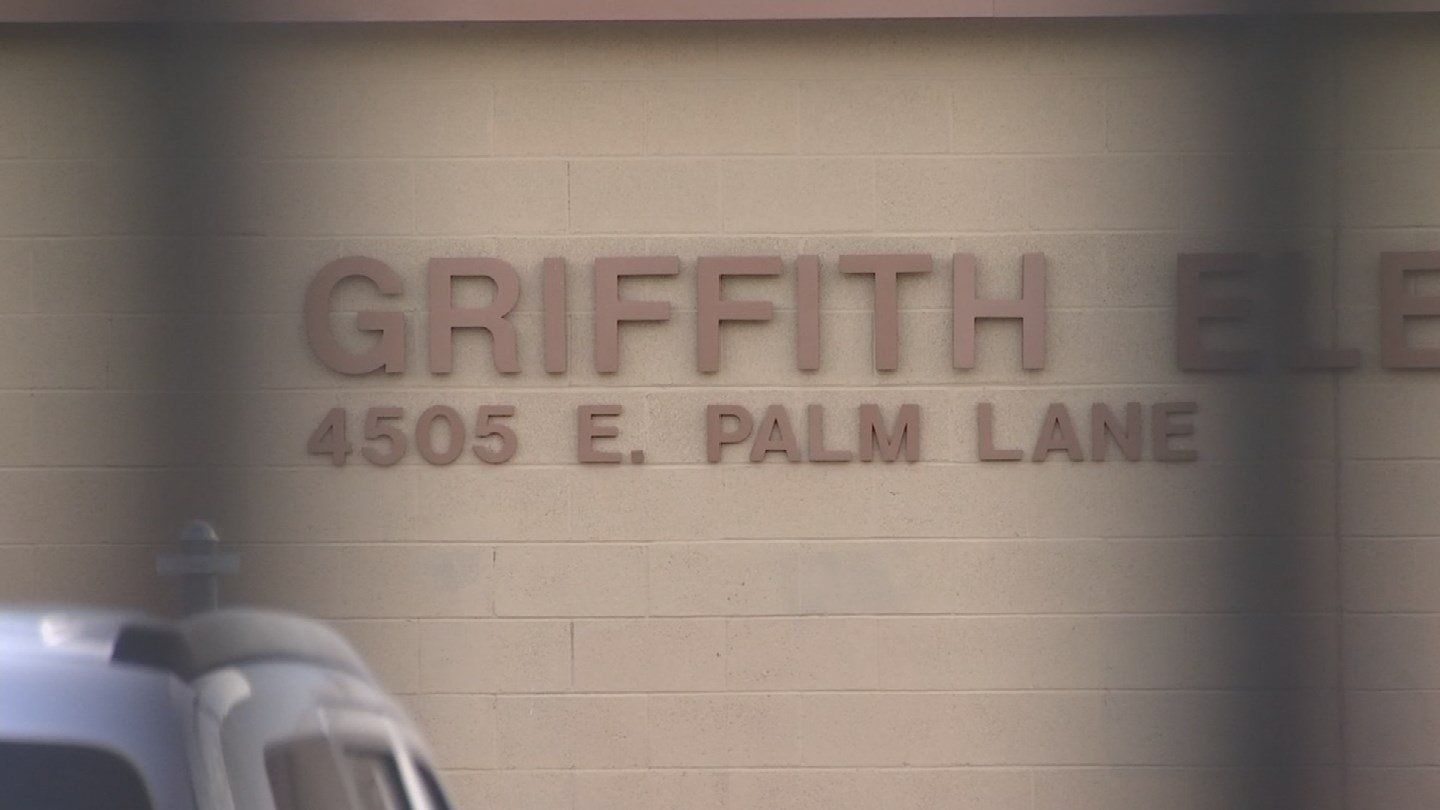 A man exposed himself to four kids at Griffith Elementary School on Wednesday, police said. (Source: 3TV/CBS 5)