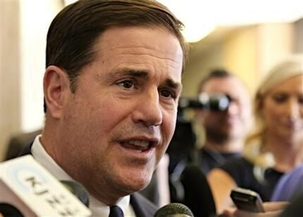 Arizona Gov. Doug Ducey said it's too early to think about running for re-election. (Source: 3TV/CBS 5)