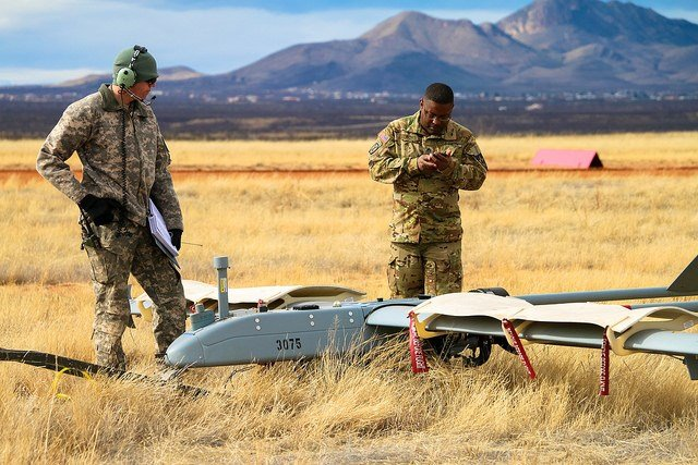 JBLM Soldiers conduct UAS training for readiness-level progression at Fort Huachuca (Source: Fort Huachuca Public Affairs)