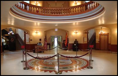 Arizona Capitol Museum rotunda (Source: Arizona State Library Archives and Public Records)