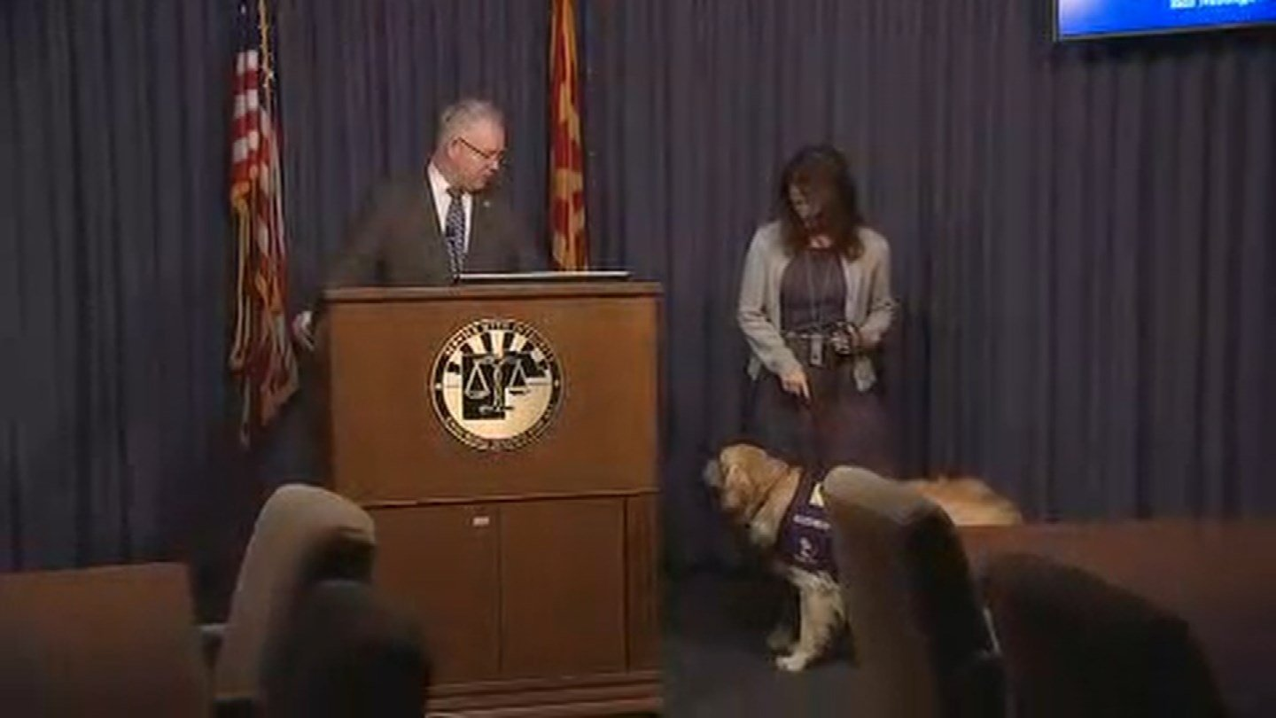 The County Attorney introduces Morgan (Source: 3TV/CBS 5)