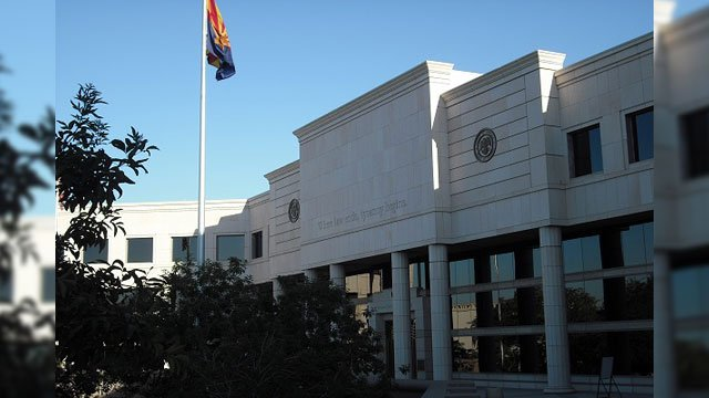 Arizona Supreme Court building (Source: Tim Eigo, Arizona Attorney Magazine)