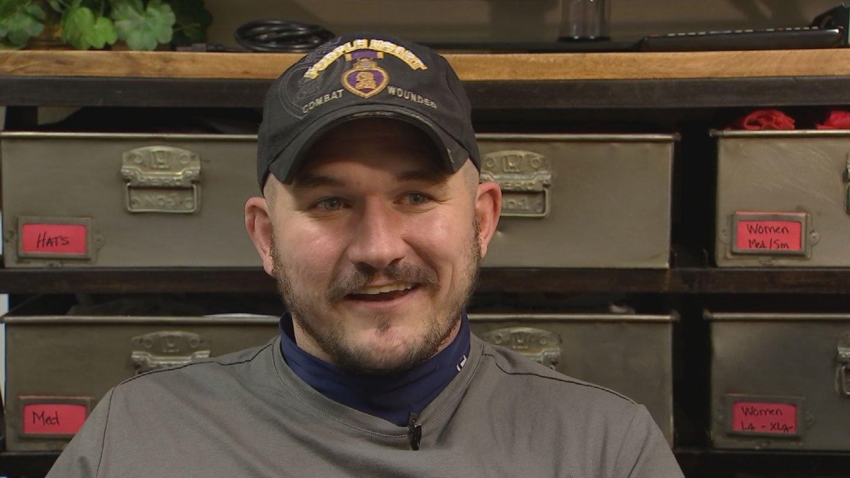 Will McDermott is a Purple Heart recipient.(Source: 3TV/CBS 5)