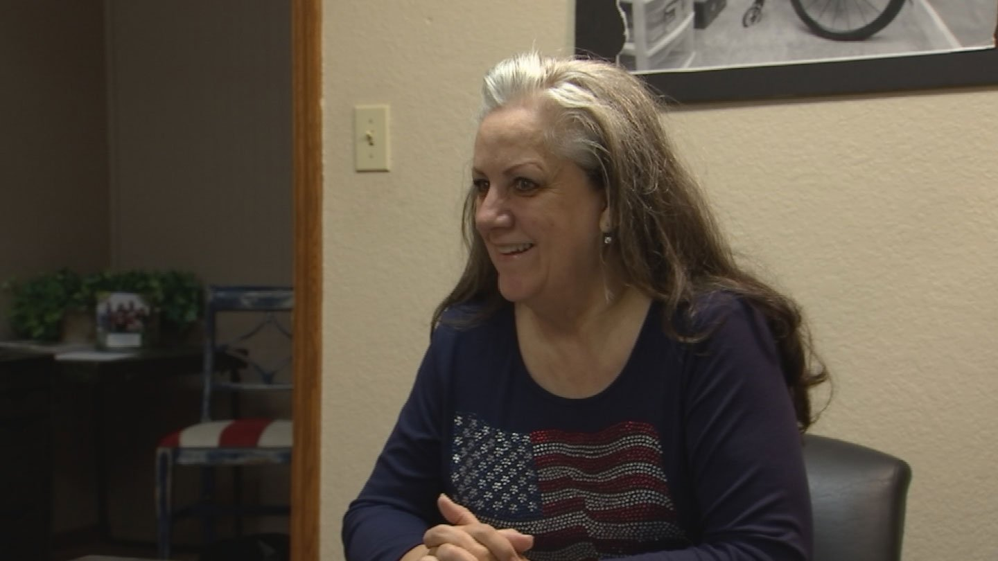 Kathy Pearce is the executive director of AZ Heroes to Hometowns. (Source: 3TV/CBS 5)
