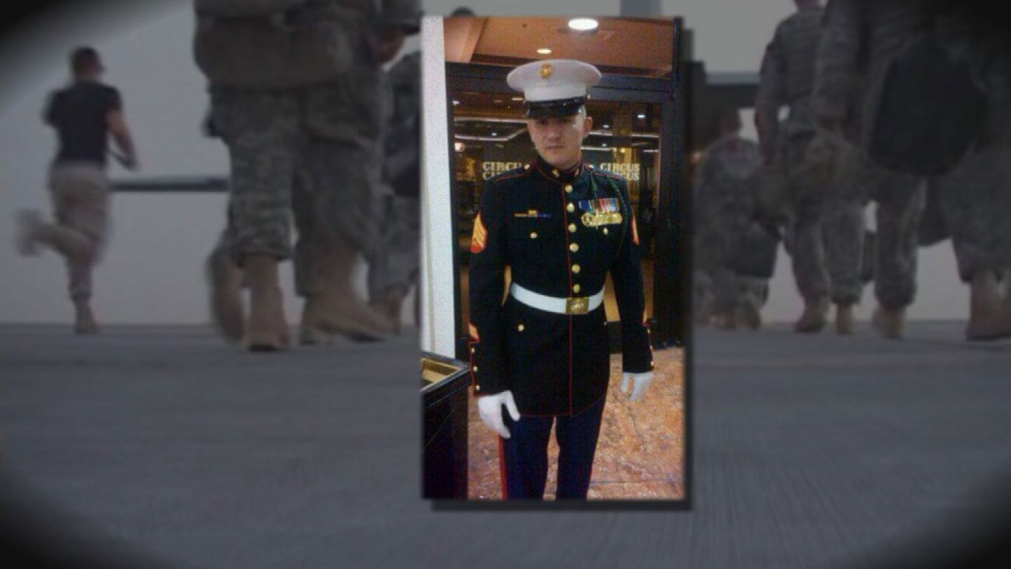 Will McDermott said transitioning from the battlefield to normal life was a difficult process. (Source: Will McDermott)