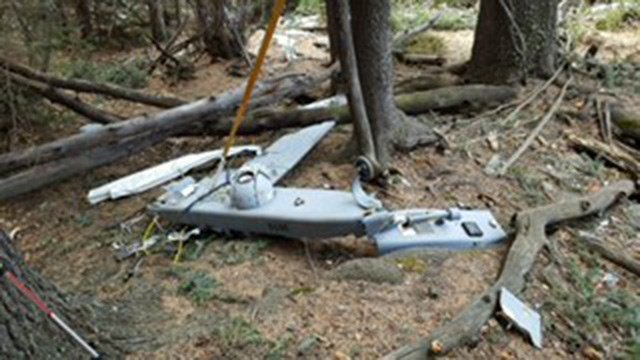 The missing drone was found in Colorado. (Source: Fort Huachuca)