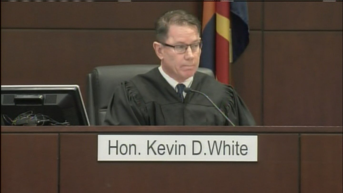 The Honorable Kevin D. White presided over Kost's sentencing hearing. (Source: 3TV/CBS 5)