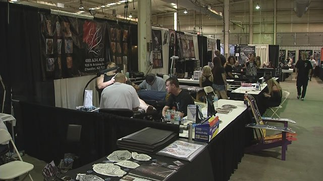 2017 Body Art Expo  (Source: 3TV/CBS 5)