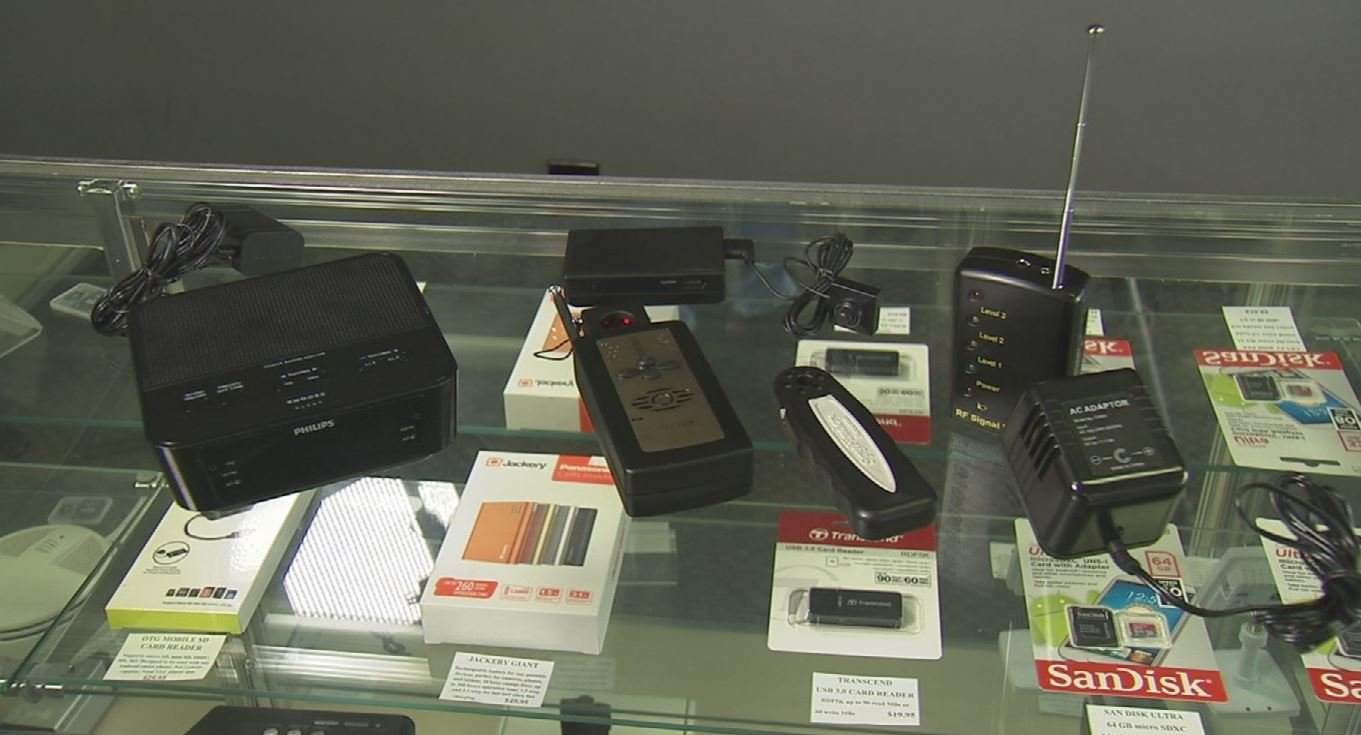 Hidden cameras are getting smaller and more common. (Source: 3TV/CBS 5)
