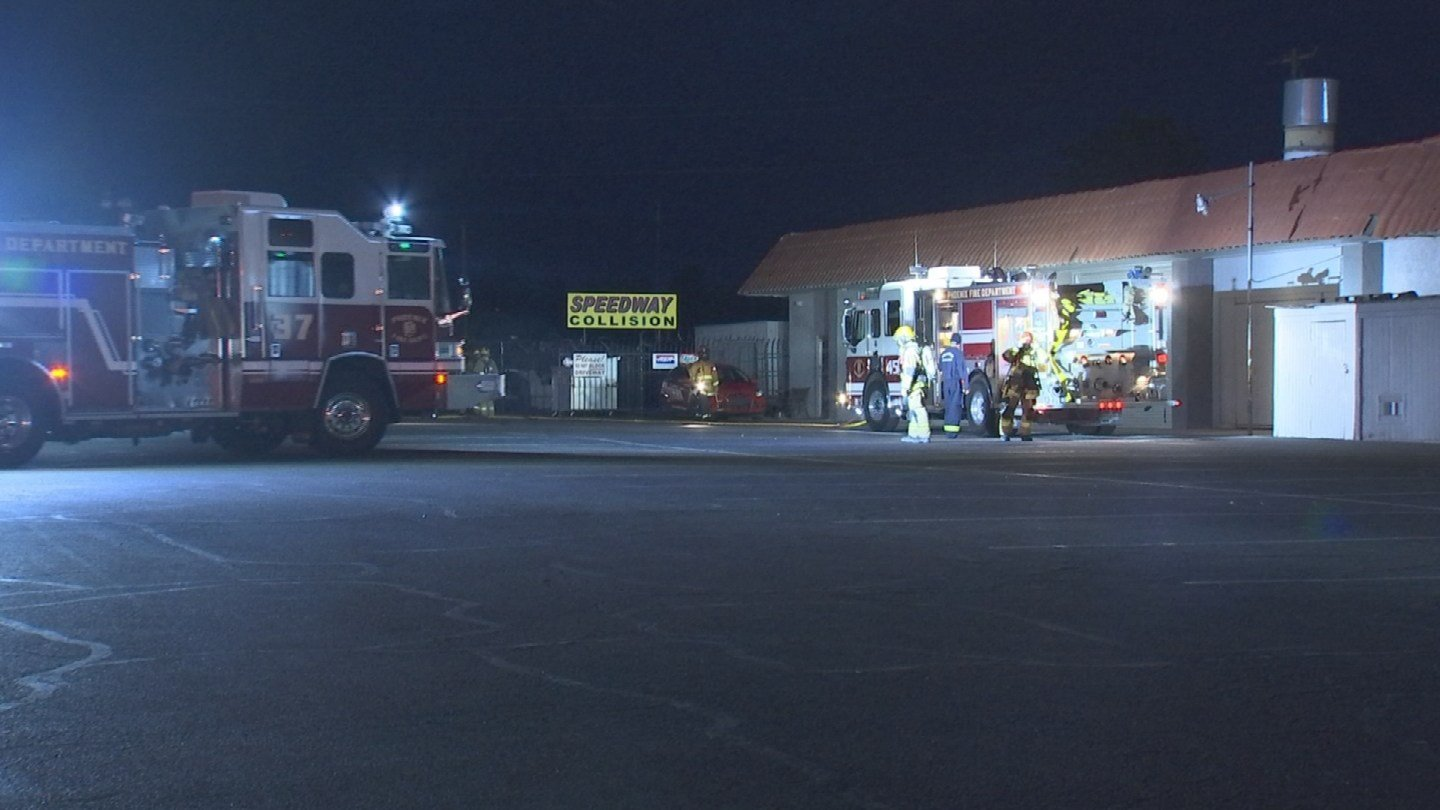 A firefighter was stung through his bee suit. (Source: 3TV/CBS 5)