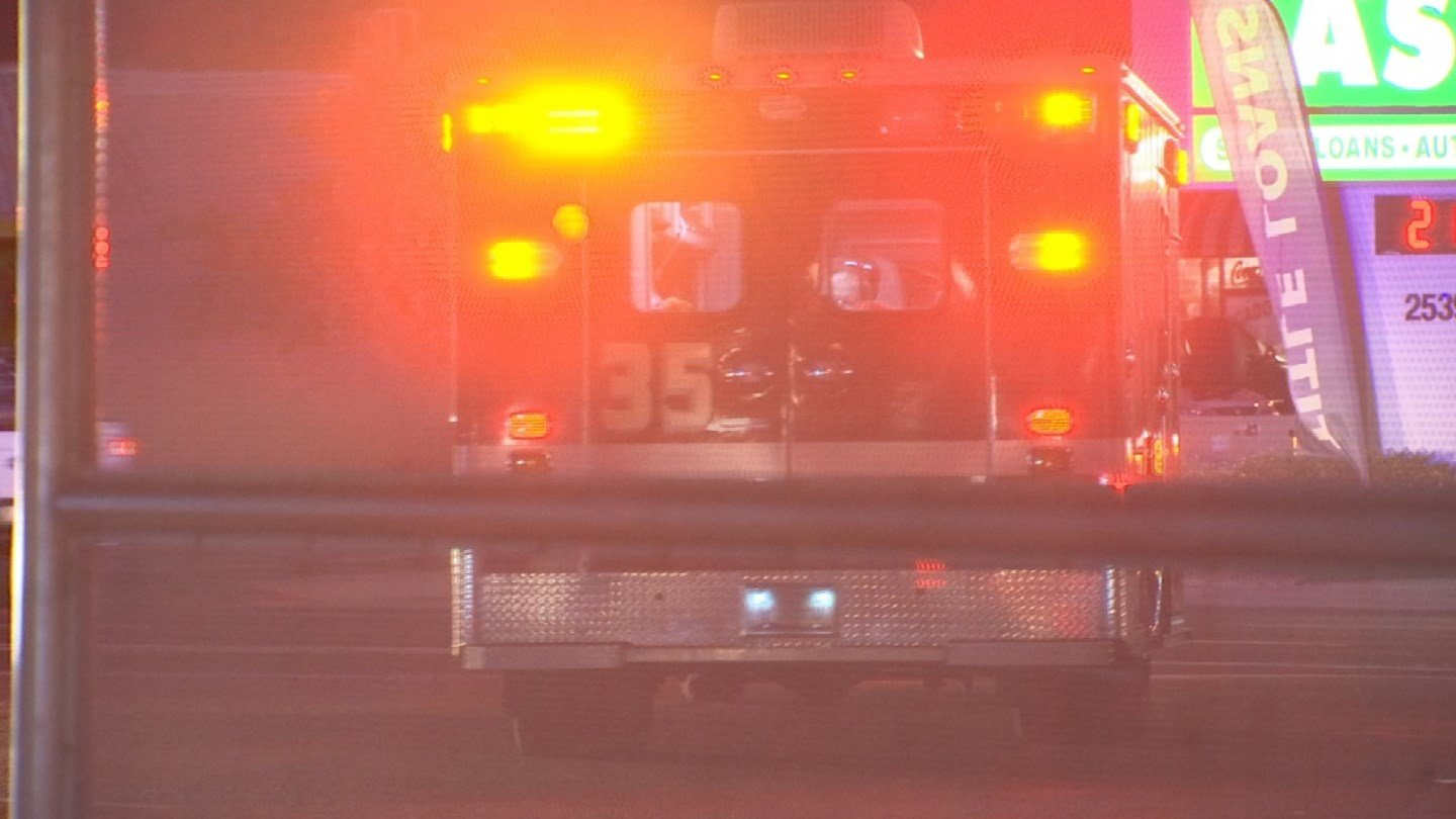 The firefighter suffered an allergic reaction and was taken to the hospital. (Source: 3TV/CBS 5)
