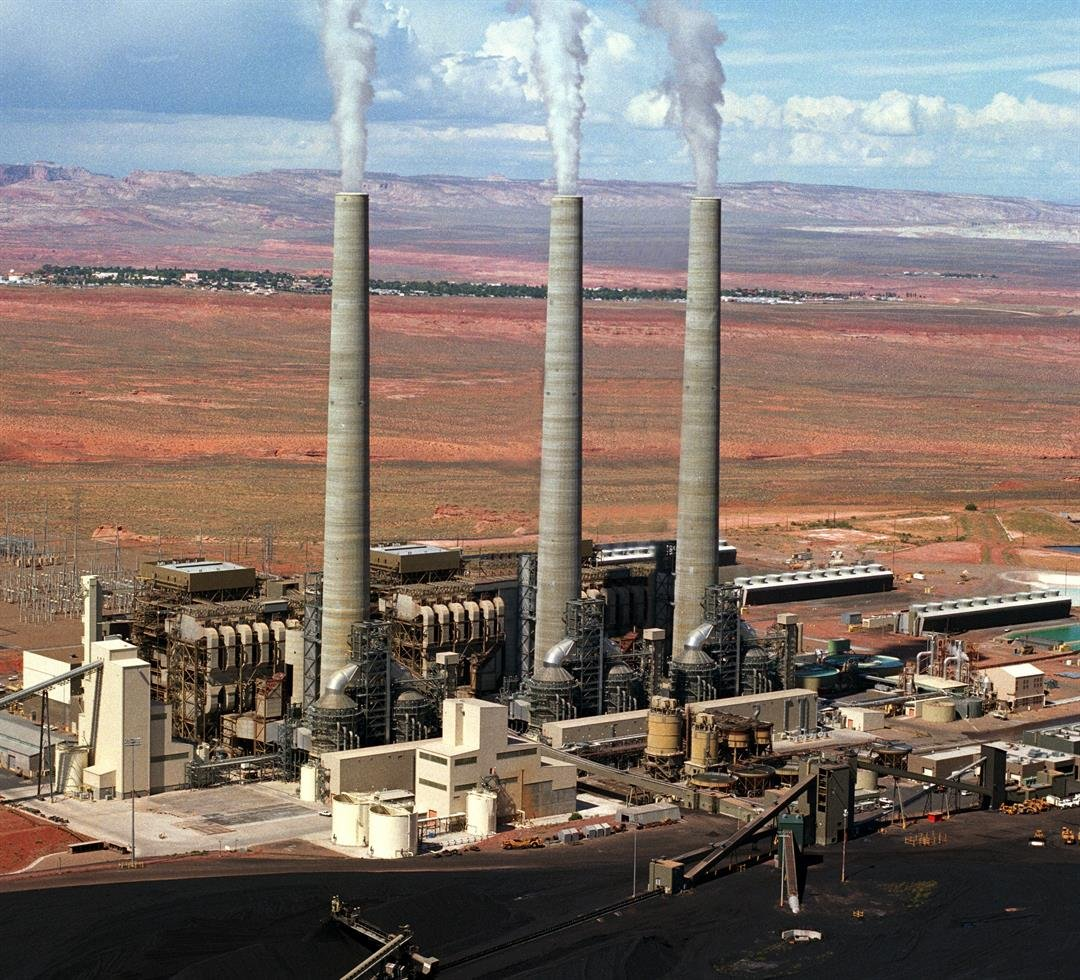 The Navajo Generating Station's operator, the Salt River Project, had said closing the plant was a possibility because less expensive power generated by burning natural gas is available. (Source: Salt River Project)