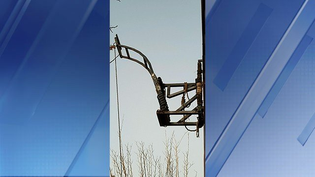 A catapult was found near the Douglas Port of Entry last Saturday. (Source: U.S. Customs and Border Protection)