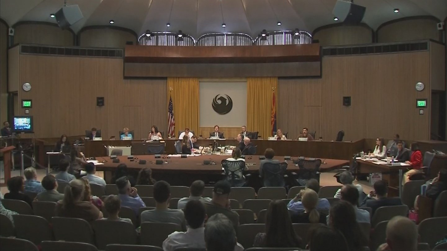 A petition to make Phoenix a sanctuary city is unlikely to pass during the city council's vote on Wednesday. (Source: 3TV/CBS 5)