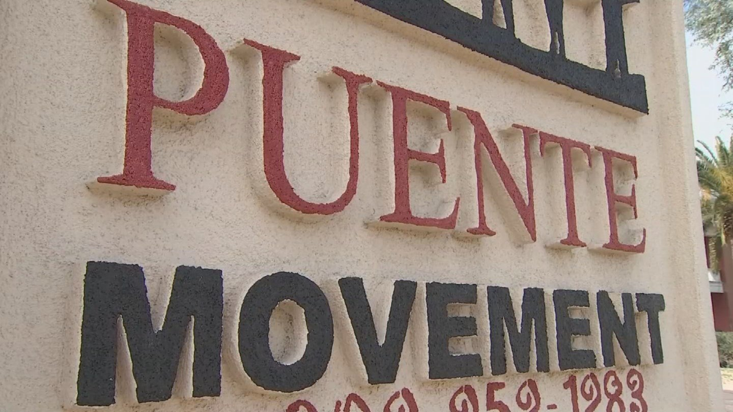 The group Puente Arizona is rounding up people to speak at the council meeting. (Source: 3TV/CBS 5)