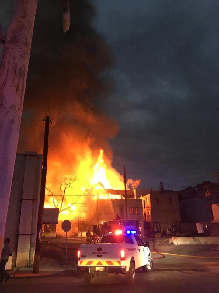 It took about 25 firefighters to fight the blaze. (Source: Trish Lauck)