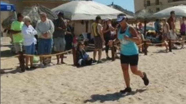 Tessa Stotts finished last year's Rocky Point Triathlon (Source: 3TV/CBS 5)