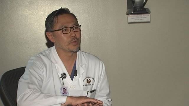 Dr.Kenith Fang said many people don't talk to their doctor about family historyor they simply ignore warning signs. (Source: 3TV/CBS 5)