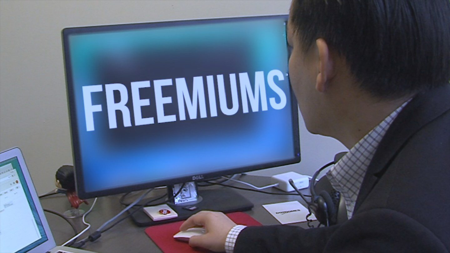 Freemium apps are initially free but then users have to pay for updates or items inside the app. (Source: 3TV)