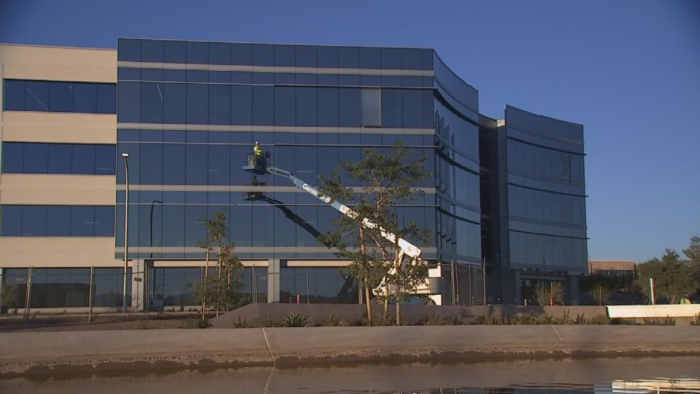 The path is just one of the many planned projects on the site. One office building was just completed with plans for several more. (Source: 3TV/CBS 5)