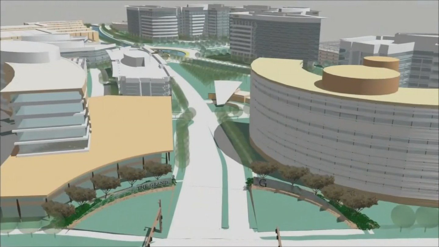 The complete build-out, though, is expected to take roughly 20 years. (Source: 3TV/CBS 5)