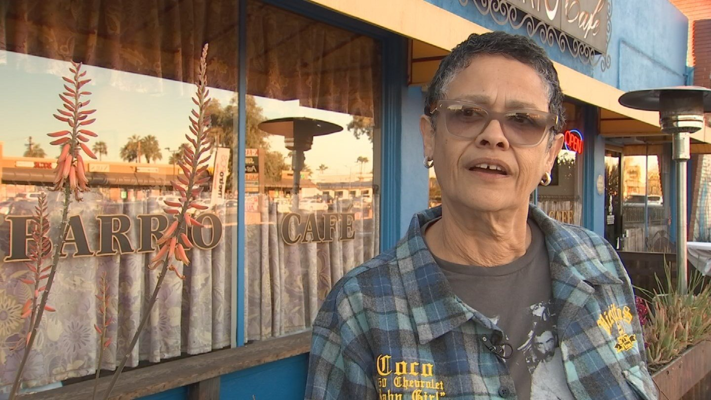 Barrio Cafe owner Silvana Salcido Esparza says taking a stand is worth losing a day of business. (Source: 3TV/CBS 5)