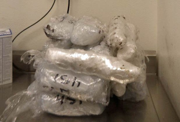 Nogales border officers find motorcycle's gas tank filled with heroin