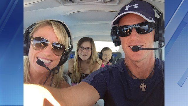 Eric Falbe, his wife Carrie Falbe and his two daughters Victoria and Skylar were killed in a plane crash north of Payson. (Source: Facebook)