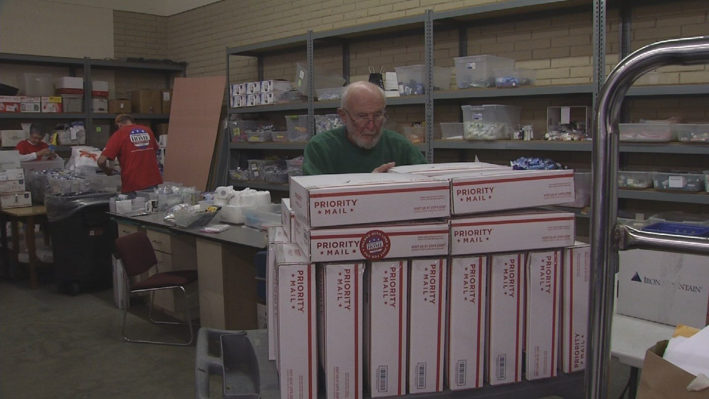 Packages from Home send care packages to military members serving overseas. (Source: 3TV/CBS 5)