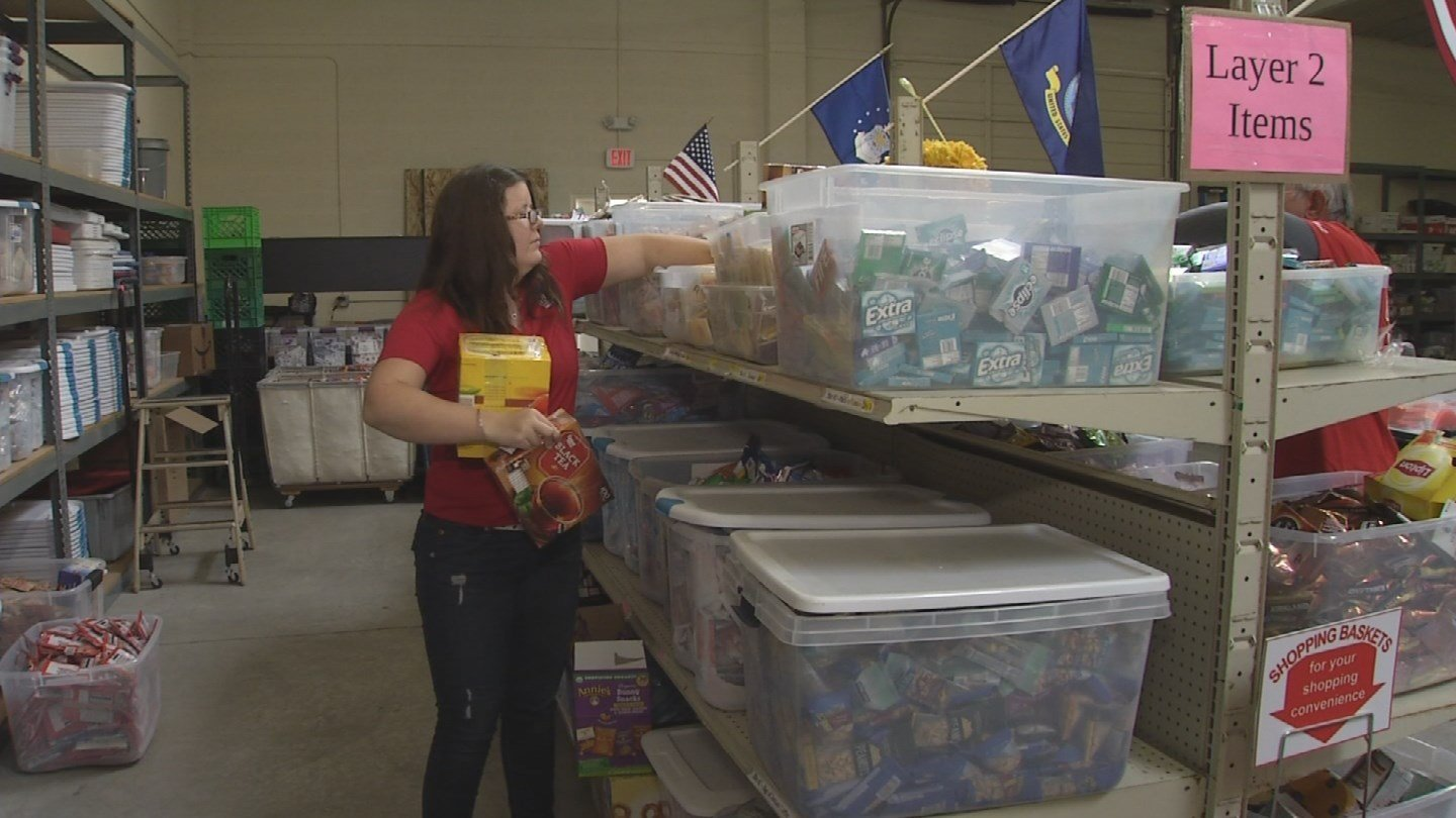 Over the past year, Packages from Home has moved into a large Glendale warehouse to facilitate all of the programs. (Source: 3TV/CBS 5)