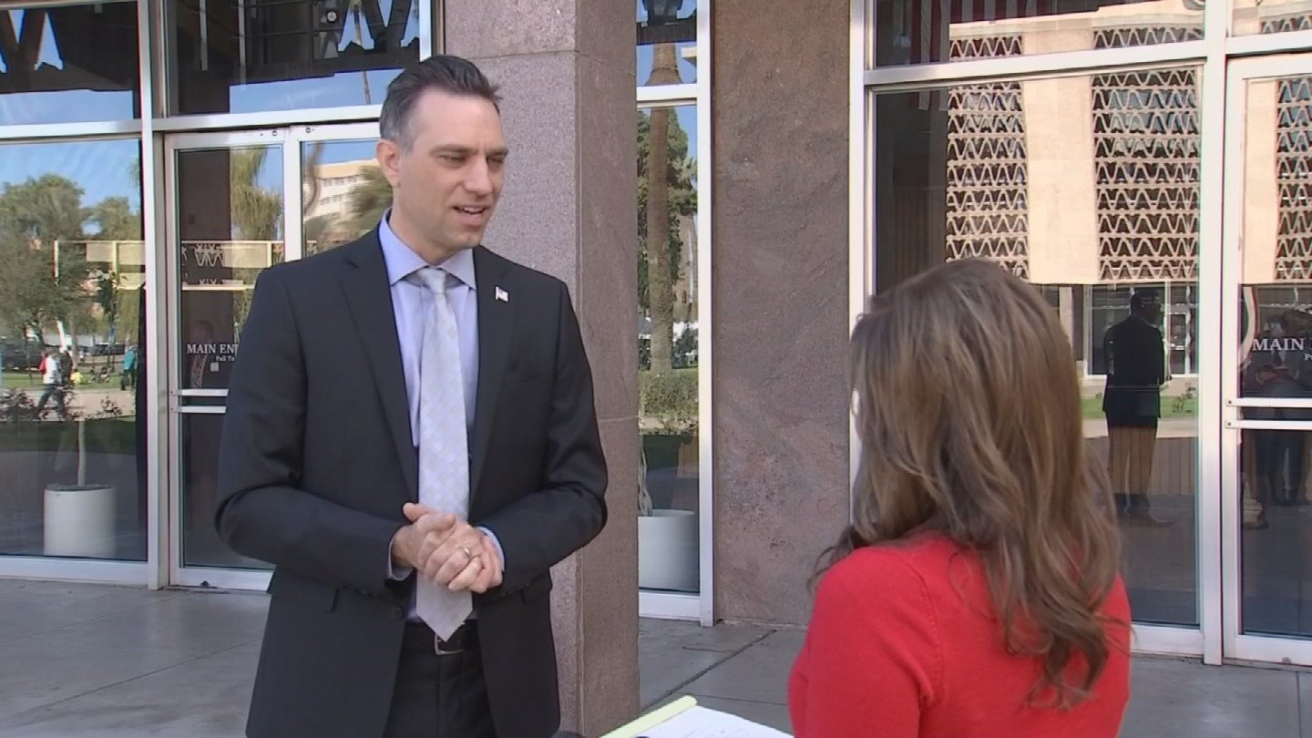 State Sen. Steve Smith says while the goal is to prove undocumented immigrants provide tax revenues to the state, he says the state takes other financial hits. (Source: 3TV/CBS 5)