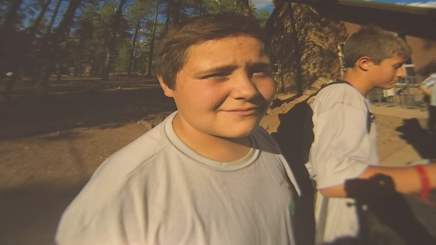 Cody was on a hike with his mother's boyfriend in temperatures that exceeded 110 degrees. (Source: 3TV/CBS 5)