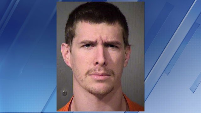Caleb Bartels' booking photo (Source: Maricopa County Sheriff's Office)