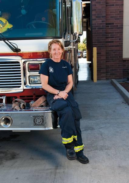 Phoenix Fire Capt. Crystal Rezzonico (Source: United Phoenix Firefighters)