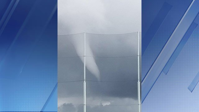 A funnel cloud was spotted in Scottsdale. (Source: 3TV/CBS 5)