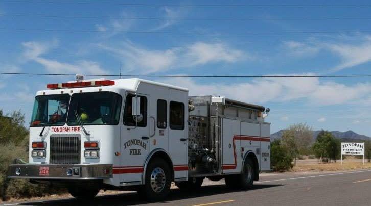 File photo of a Tonopah fire truck. (Source: Tonopah Fire Department)
