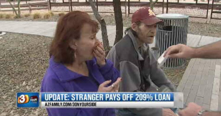 The Halseys couldn't believe the generosity. (Source: 3TV)