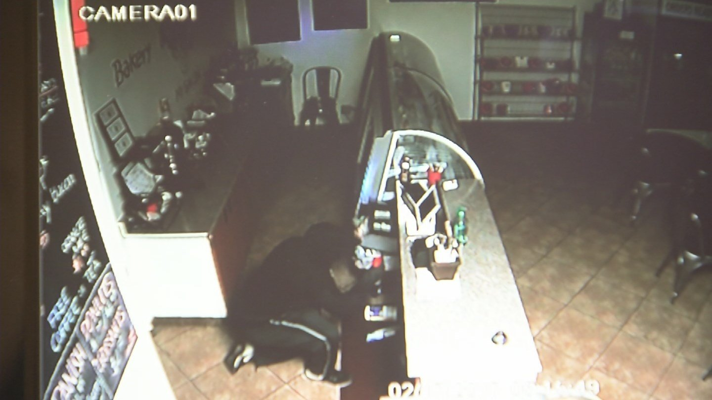 break-in is estimated to be a $2,400 loss. (Source: 3TV/CBS 5)