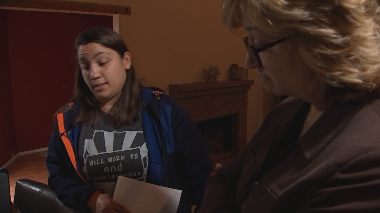 Ashely Christopher got sent a bill for her bonus that the government said she didn't deserve. (Source: 3TV/CBS 5)