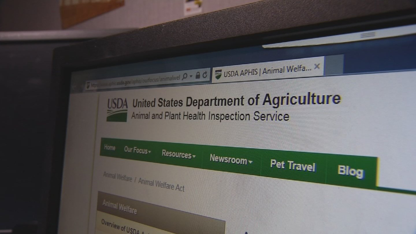Amid heavy criticism, the USDA re-posted a handful of records to its website last week. (Source: 3TV/CBS 5)