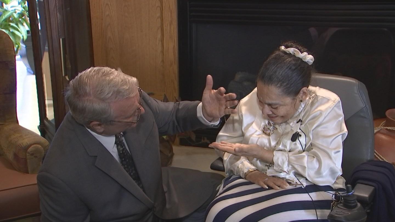 Scheryl Silvio received her stolen jewelry on Tuesday. (Source: 3TV/CBS 5)