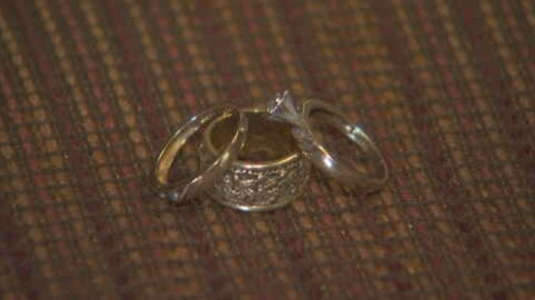 The rings were stolen two years ago. (Source: 3TV/CBS 5)